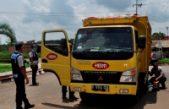 Dishubkominfo Banyuasin Melakukan Uji Emisi Kendaraan Angkutan Barang