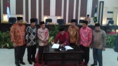 Dewan Setujui Perda Pembentukan 22 SKPD