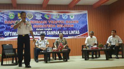 Pemkab Banyuasin ikuti Rapat Koordinasi bidang LLAJ.