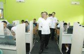 Wabup Supriono Tinjau Pelaksanaan Ujian Nasional Tingkat SMP