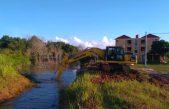 Langkah Nyata Pemkab Banyuasin Atasi Banjir, Dinas PUTR Lakukan Normalisasi Saluran Air