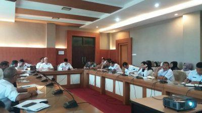 Asisten I Pimpin Rapat Persiapan HUT Banyuasin Ke-15 Tahun 2017