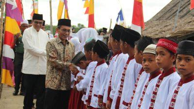 Berbuka Puasa Bersama di Desa, Supriono Dengarkan Keluhan Masyarakat.