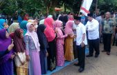 Halal bi Halal Kecamatan Muara Padang, Supriono Ingatkan perkuat tali silaturahmi antara warga dan Pemerintah