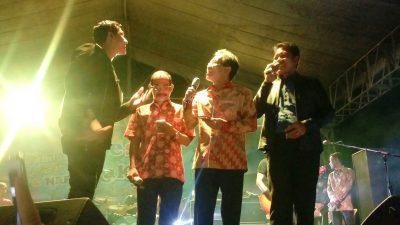 Pembukaan Pesta Rakyat Banyuasin, Kolaborasi NAFF-SUPRIONO Sukses Bius Ribuan Pengunjung