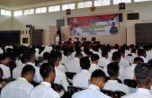 Polres Banyuasin Berikan Pembekalan dan Latihan ke Calon Peserta  Tes Anggota Polri