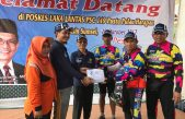 BUPATI SUPRIONO SAMBUT PESERTA GOWES DE' TOUR SABANG – JAKARTA 3000K INDONESIA SEHAT