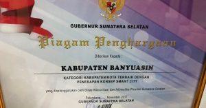 Pemprov Sumsel Apresiasi Smart City Banyuasin