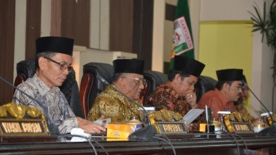 Pemkab Banyuasin dan DPRD sahkan 14 Raperda menjadi Perda