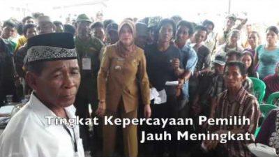E-Voting Kab. Banyuasin Terbanyak di Indonesia