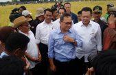 """Petinggi Negara Rame-Rame Panen Raya di Banyuasin, Ketua MPR : """"Ayo Muliakan Petani"""""""
