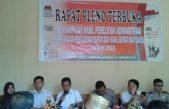 KPUD Banyuasin Umunkan Hasil Tes Kesehatan Serta Penelitian Berkas Pasbalon