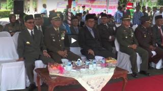 Upacara HUT TNI Kab. Banyuasin