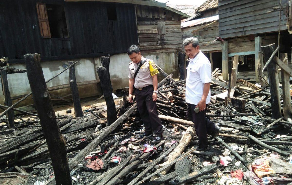 Kebakaran Rumah di Rantau Bayur, Pemkab Siaga Tanggap Darurat