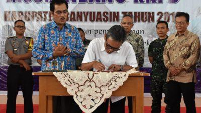 Universitas Indonesia – Pemkab Banyuasin Sepakat Kerjasama