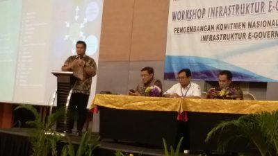 Di Bogor, Kadiskominfo Kenalkan Pengelolaan Infrastruktur E-Government Banyuasin