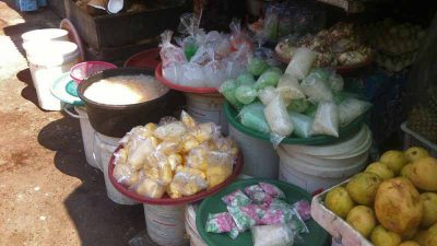 Cincau dan Kolang Kaling Laris Manis di Bulan Ramadhan