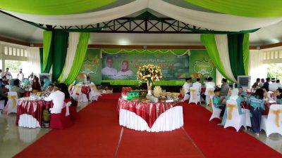 Bupati Supriono Shalat Ied di Masjid Al Amir, Open House di Pendopoan