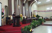 Rapat Paripurna DPRD Banyuasin Terhadap Pandangan Umum Fraksi-fraksi