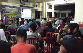 Polres Banyuasin Nobar Final Piala Dunia