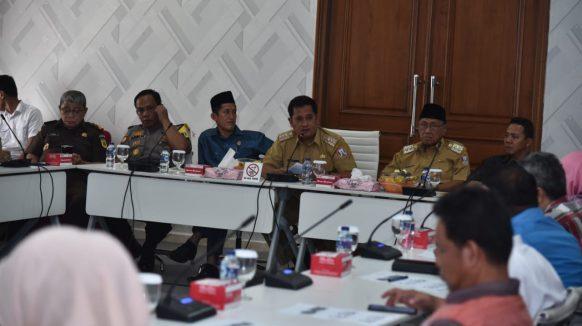Kawal Pembangunan, Bupati Askolani Harapkan Sinergitas antara Pemerintah dan Pers