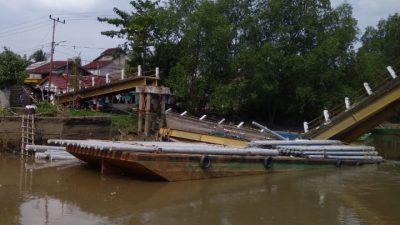 Pemkab Respon Cepat Tanggapi Ambruknya Jembatan Makarti Jaya