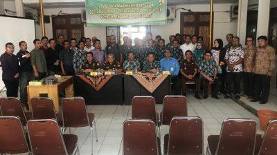 Kejari Banyuasin Sosialisasi TP4D pada Pejabat PUTR  PANGKALAN