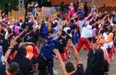 Pemkab Banyuasin Setiap Jum'at Gelar Senam Pagi Bersama di Taman Kota