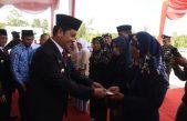 Berlangsung Khidmat, Upacara Hari Pahlawan Digelar Di Tanjung Api-Api