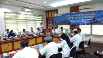 BPS Banyuasin Mengelar Rapat Focus Grup Discussion Ekspose Data Strategis