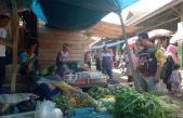 Bupati  Banyuasin Belanja di Pasar Pangkalan Balai