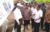 Menteri Pertanian RI Tinjau Lokasi Pengembangan Lahan Rawa Pasang Surut