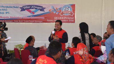 Bupati Askolani Temu Kangen Alumni SMAN 1 Pangkalan Balai