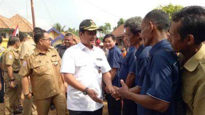 Kujungan Kerja Bupati Banyuasin ke Kecamatan Rambutan