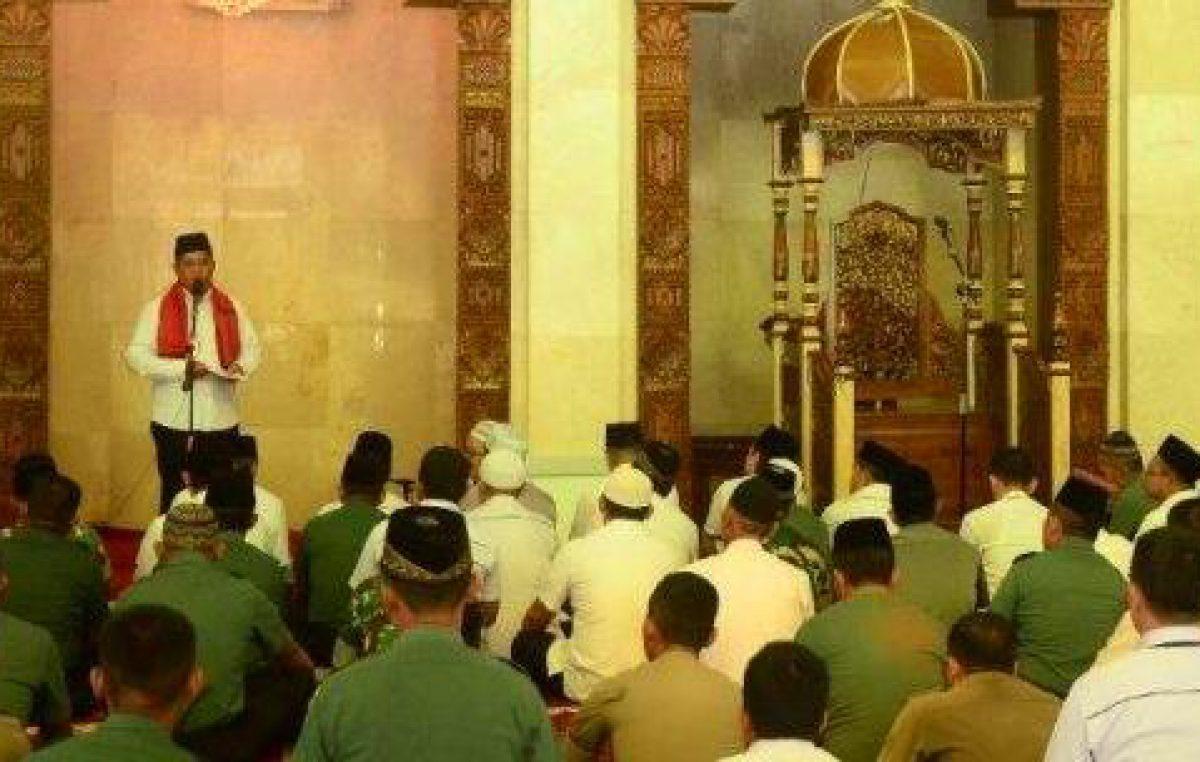 Wujudkan Banyuasin Religius dengan Sholat Dhuha dan Dzuhur Berjamah