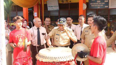 Pakde Slamet Buka PORSENI SMP&SMA Methodist Talang Kelapa