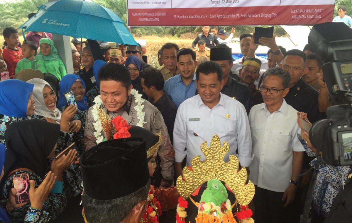 Gubernur Sumsel Janjikan Buka Akses Telkomunikasi Desa Manggar Raya