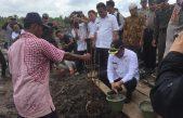 Bupati Askolani Resmikan Pembangunan Polsubsektor Sumber Marga Telang