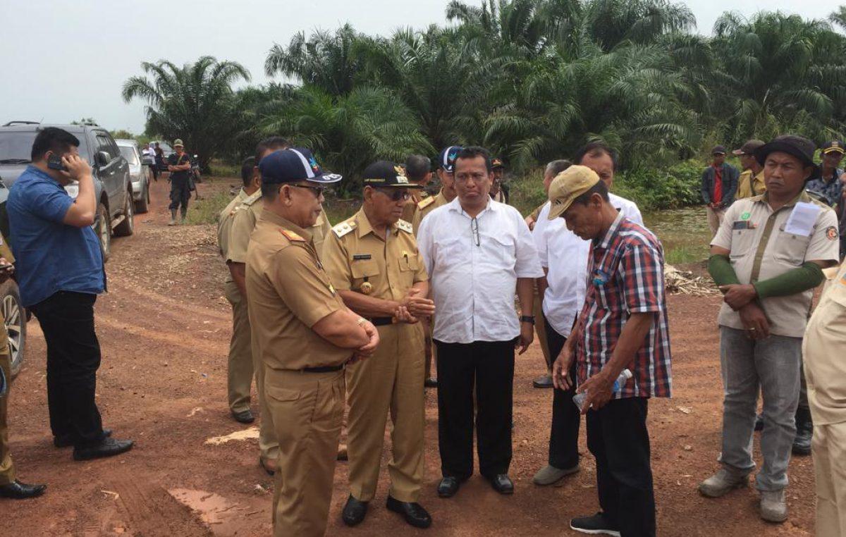 Pemkab Tuntaskan masalah plasma Desa Kuala Puntian