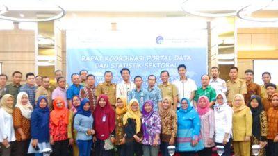 Rapat Koordinasi Portal data dan Satastik sektoral Kabupaten Banyuasin