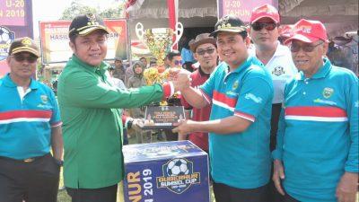 Gubernur Sumsel Cup U – 20 Tahun 2019 Zona Banyuasin Resmi di Buka