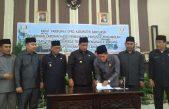 DPRD Banyuasin Setujui RAPERDA RTRW jadi PERDA