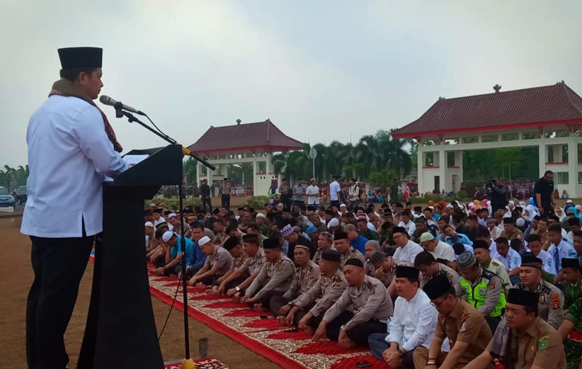 Pemkab Banyuasin Gelar Sholat Istisqo serentak di 21 Kecamatan