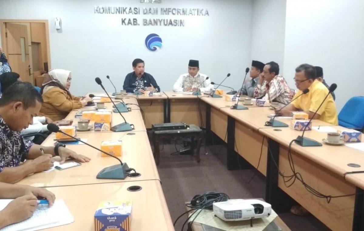Belajar Retribusi Tower, DPRD Muba Kunker ke Banyuasin