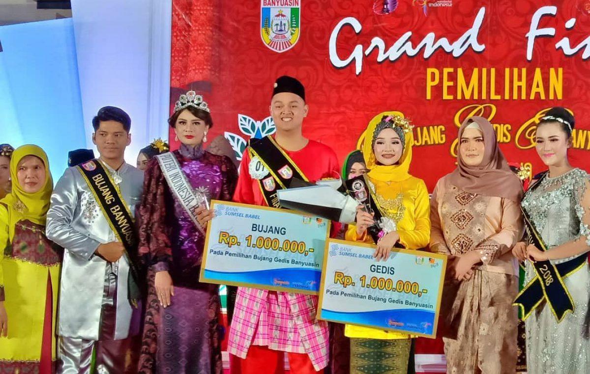 Grand Final Pemilihan Bujang Gedis Banyuasin Tahun 2019