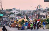 Kecamatan Banyuasin III Gelar Pawai Menyambut Hari Kemerdekaan