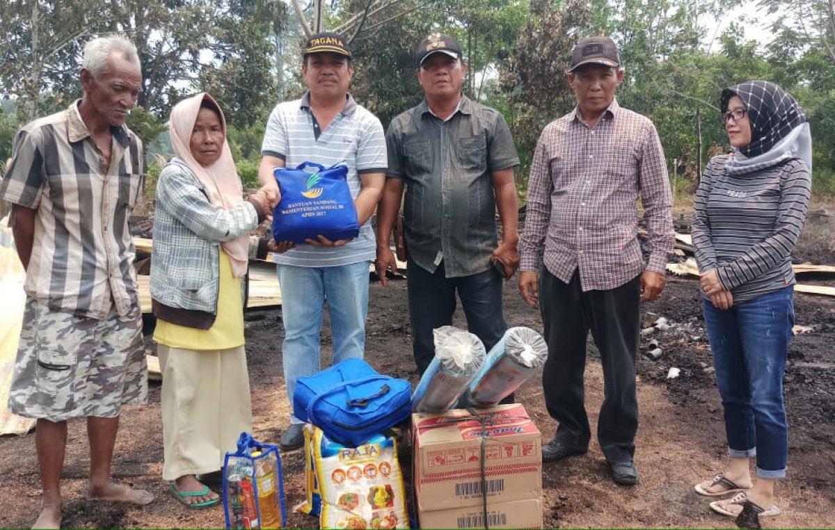 Tanggap Darurat Bencana, Pemerintah Kabupaten Banyuasin kirim bantuan untuk korban kebakaran