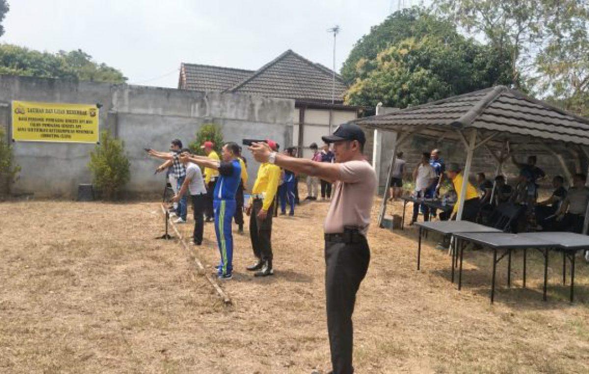 Jadikan Personil Profesional, Polres Banyuasin Gelar Latihan Menembak
