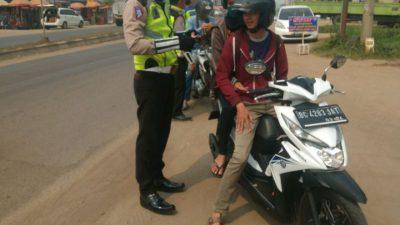 Modifikasi Pelat Kendaraan Pidana Kurung Dua Bulan
