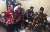Kadis Kominfo dan Kadis Dukcapil Banyuasin Meninjau Jaringan Internet Kecamatan dan Pelayanan Administrasi Kependudukan